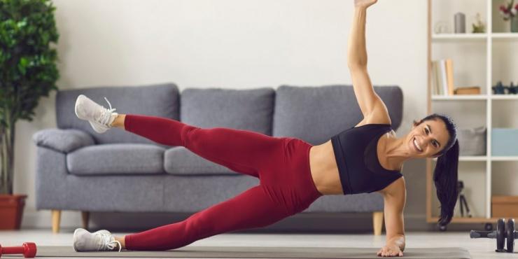 Тренировка дня домашний комплекс для идеального тела