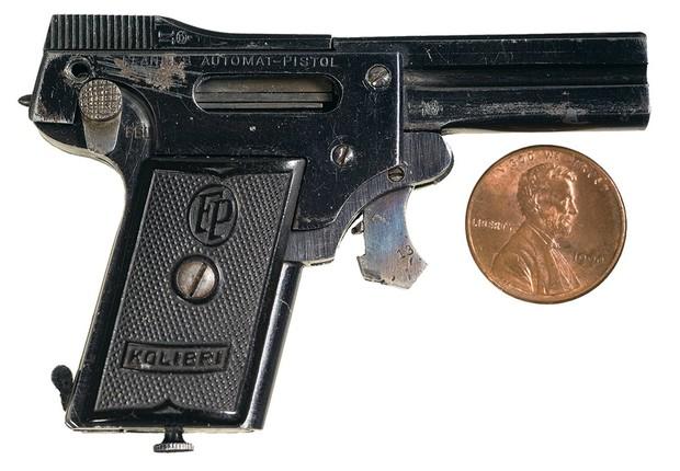 Не ствол, а пукалка  история самого маленького в мире пистолета