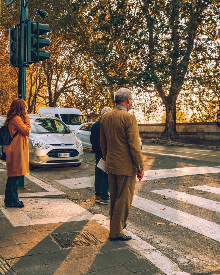 Улицы итальянских городов на снимках Давида Ориккио