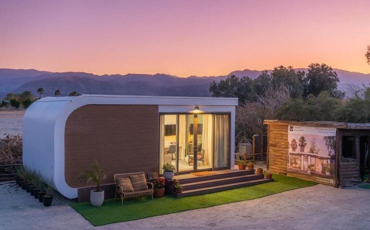 В Калифорнии появится жилой комплекс из домов, напечатанных на 3D-принтере
