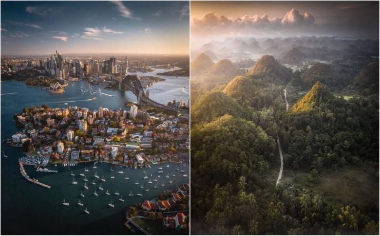 Пилот британской авиакомпании делает невероятные снимки во время путешествий по всему миру (25 фото)