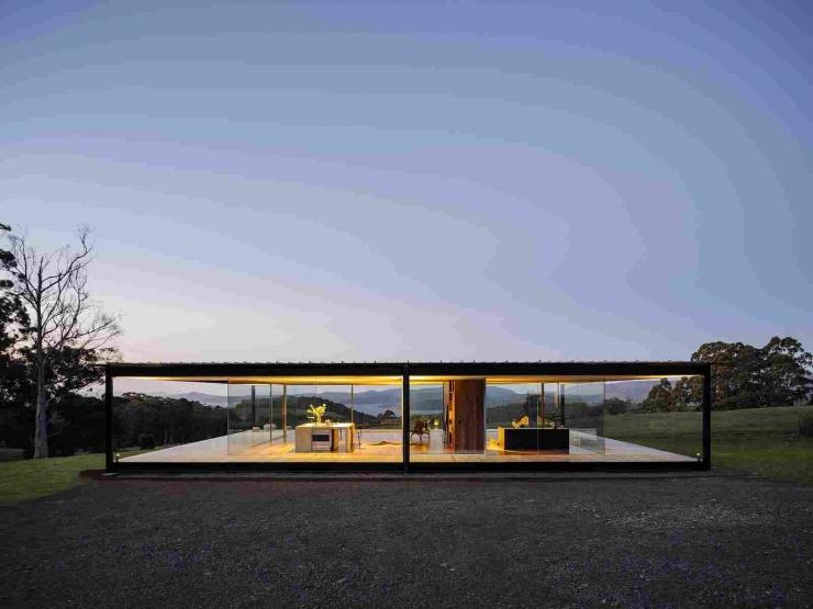 Стеклянный павильон от архитекторов Room11 в Австралии