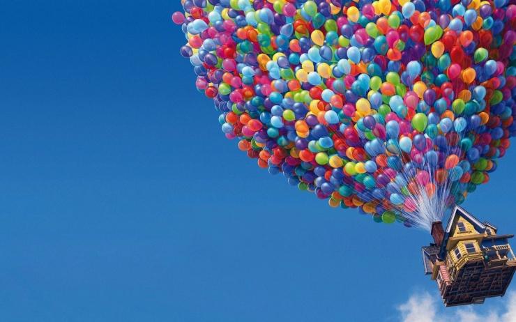На какую высоту поднимаются надутые гелием шарики?
