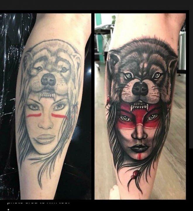 Креативные татуировки, которые исправляют предыдущие, неудачные