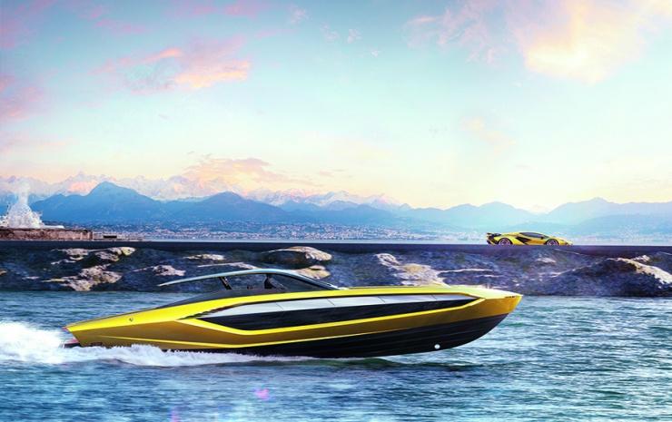 Суперкар на воде как создавалась скоростная яхта Tecnomar for Lamborghini 63
