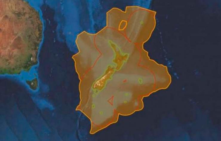 Найден 7-ой континент, который на 94 находится под водой