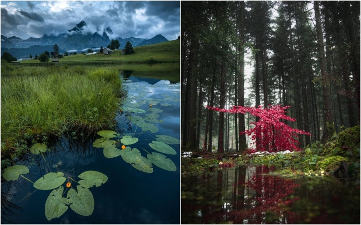 Природа Швейцарии на фотографиях Синха Боксбергера
