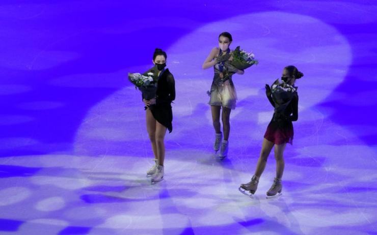Исторический рекорд российские фигуристки забрали все медали на чемпионате мира