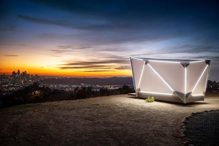 Палатка за 17 500 от американского стартапа Jupe