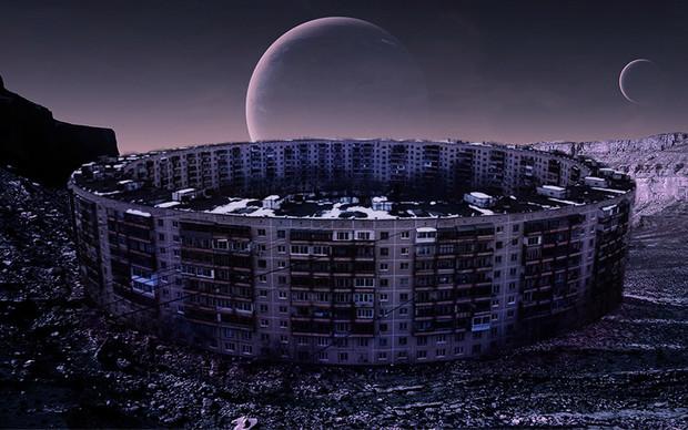 Советские постройки на других планетах (14 фото)