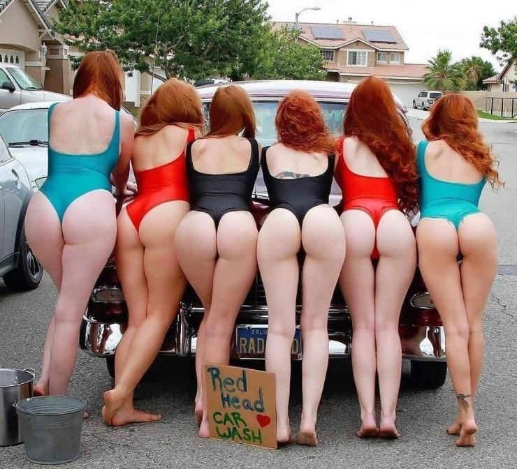 Утренние девочки Симпатичные рыжеволосые девчонки от 23.07  фото