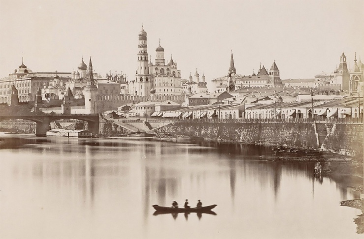 Уникальная сверхчеткая фотография Москвы XIX века