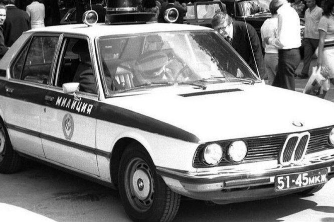 BMW для советской милиции любопытный экспонат
