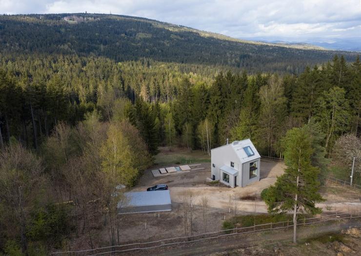 Лесной домик в чешских горах