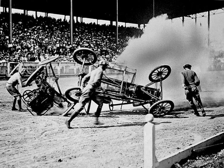 Автополо — еще один смертельно-опасный вид спорта, который мы потеряли