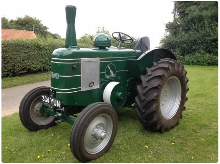 Дизельный трактор с патроном вместо стартера