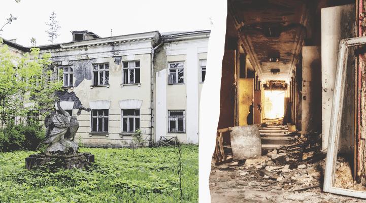 Эстетика запустения. Самые атмосферные заброшенные места России