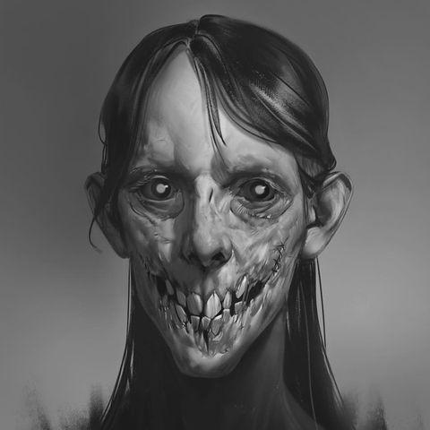 Причудливые лица художника Эйрана Оберто