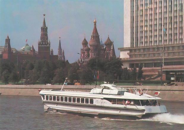 История одной фотографии: откуда советское судно «Ракета» взялось в Лондоне в 1975 году?