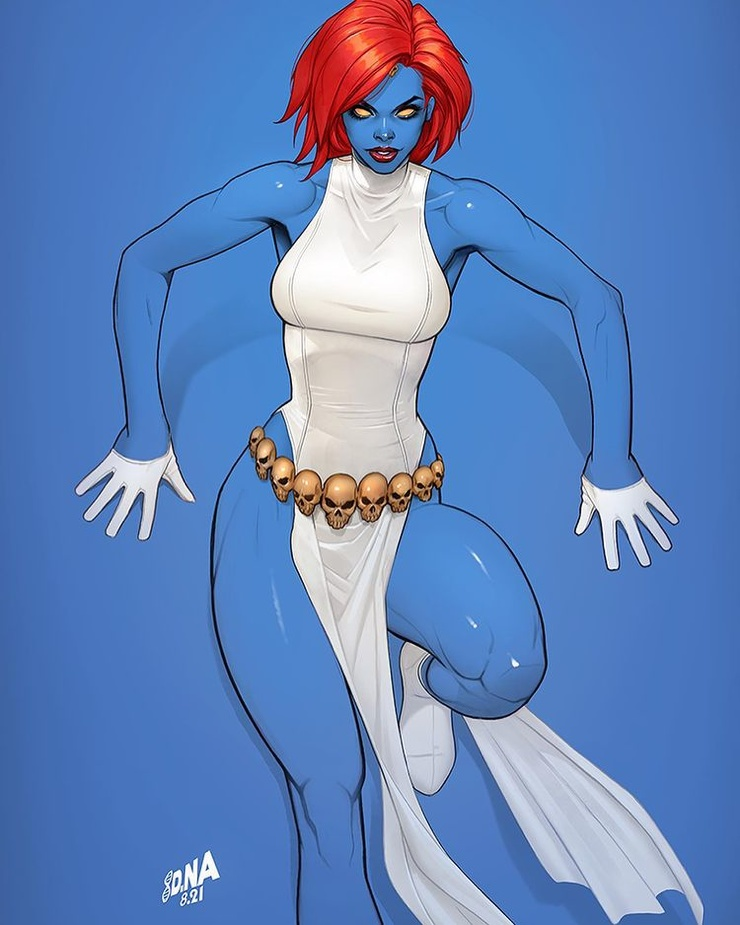 Супергерои и утонченные дамы: комиксы Дэвида Накаямы