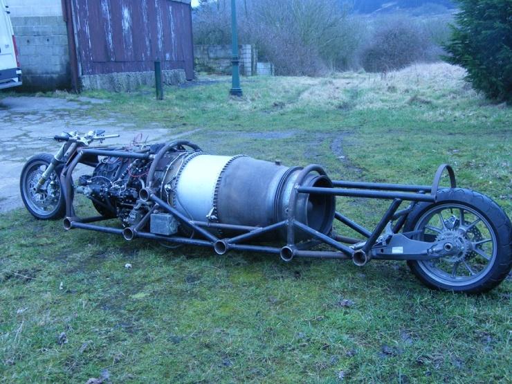 Оседлать авиационный двигатель