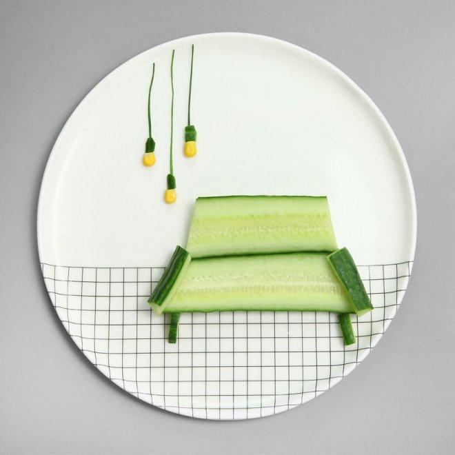 Забавные иллюзии из простых продуктов