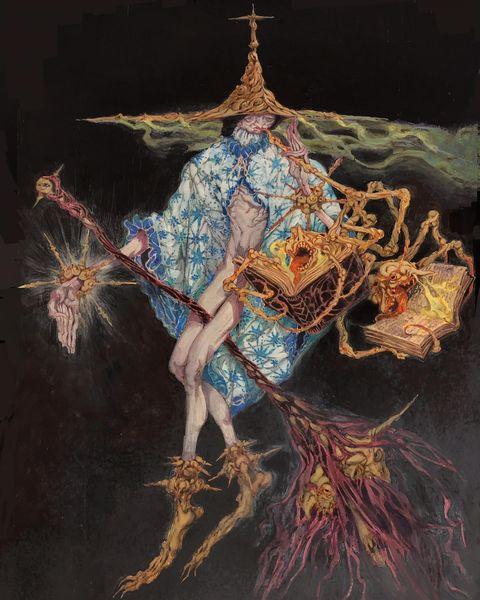 Мрачное фэнтези художника Жоао Брагато
