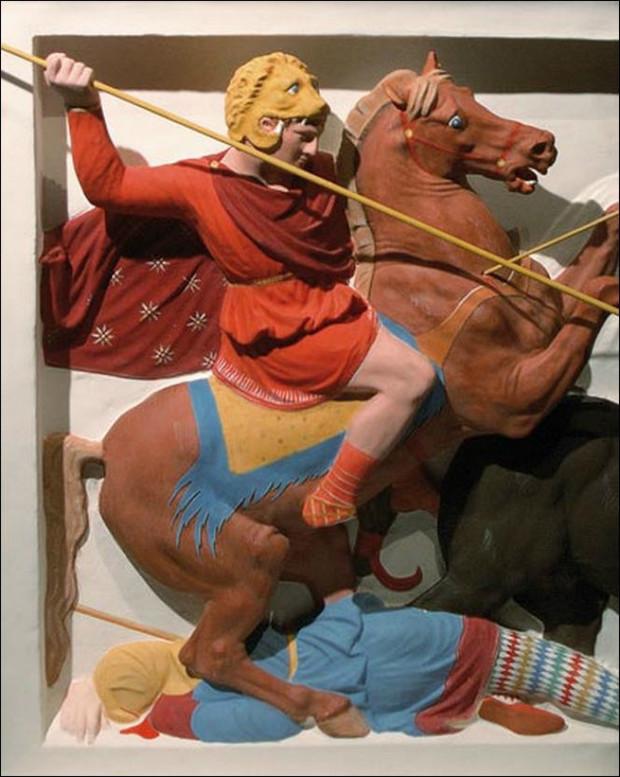 Полюбуйся, как на самом деле выглядели античные статуи!