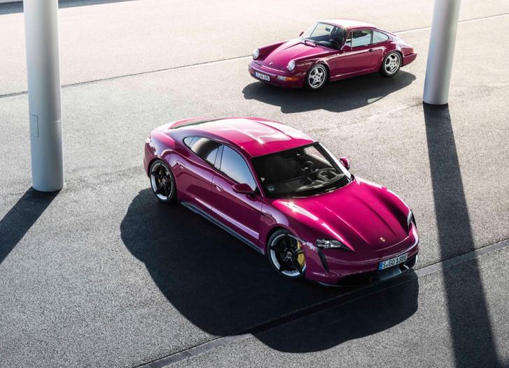 Обновленный Porsche Taycan ударился в ретро