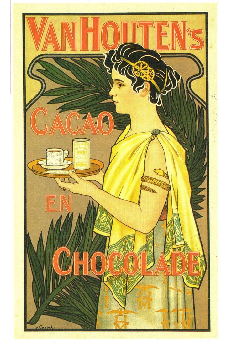 История шоколада: от ритуального напитка до лакомства