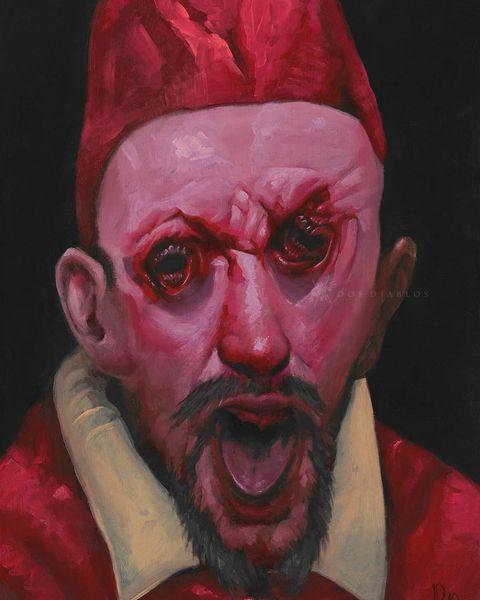 Обезображенные демоны художника Хорхе Дос Диаблоса