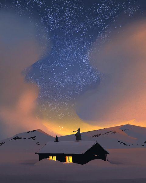 Загадочная Земля: невероятно атмосферные иллюстрации Поля Рабо