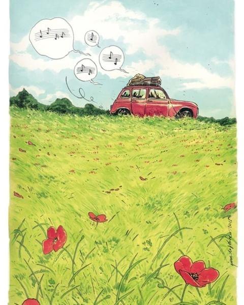 Уютные комиксы Джорди Лафебра