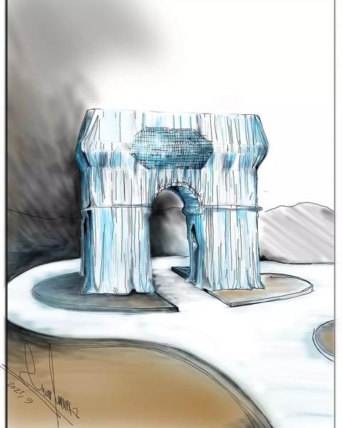Уцелевшие карикатуры афганского художника Хоссейна Резаи, чудом бежавшего от «Талибана»