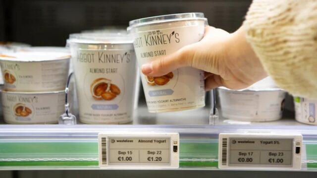Изобретение дня: умные ценники, которые сами следят за сроком годности продуктов и снижают цены