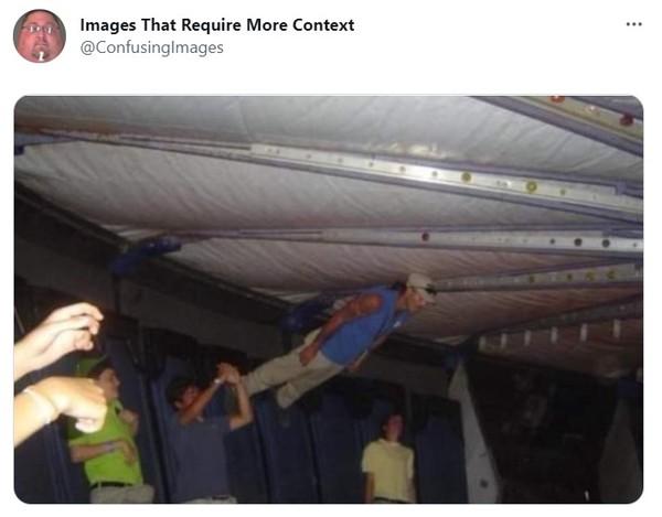 Странные фото, которым требуется контекст (загадочная галерея)