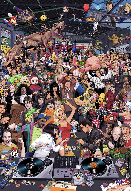 Суперголоволомка: сколько героев 90-х ты опознаешь?
