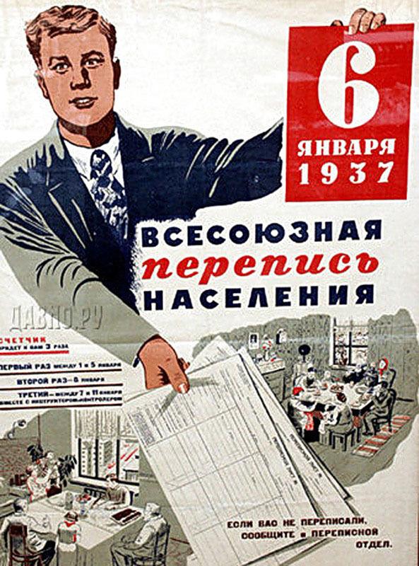 Перепись населения СССР, результаты которой были объявлены «вредительскими»