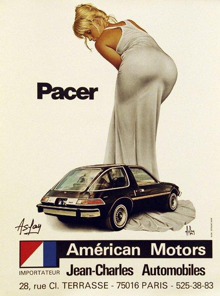 Великолепная тридцатка: неприлично большая подборка рекламы с красивыми девушками и автомобилями