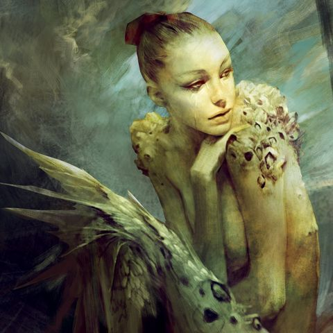 Фантастические дамы художника Кристофа Янга