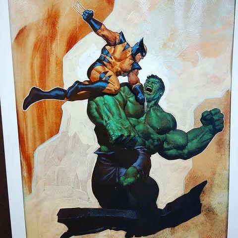 Легенда комиксов и виртуоз традиционной живописи: арт Ариэля Оливетти