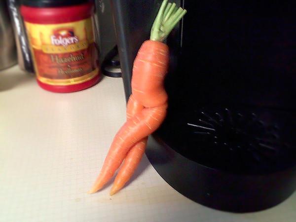 Галерея невероятно эротичных морковок