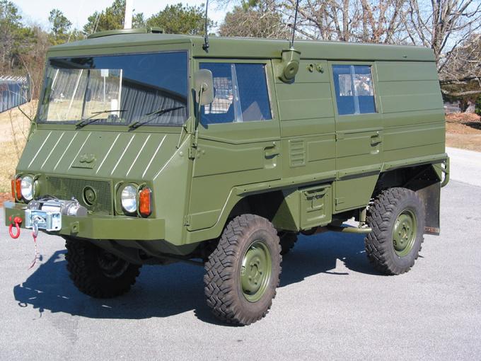 История австрийской компании Steyr Trucks