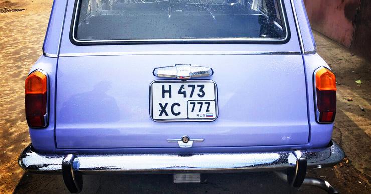 Можно ли ставить квадратный номер на автомобиль спереди?