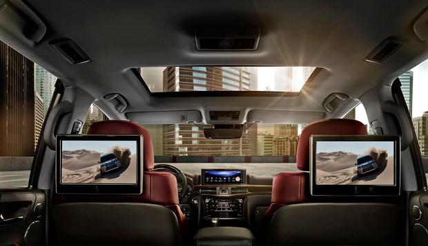 5 железобетонных фактов о Lexus LX