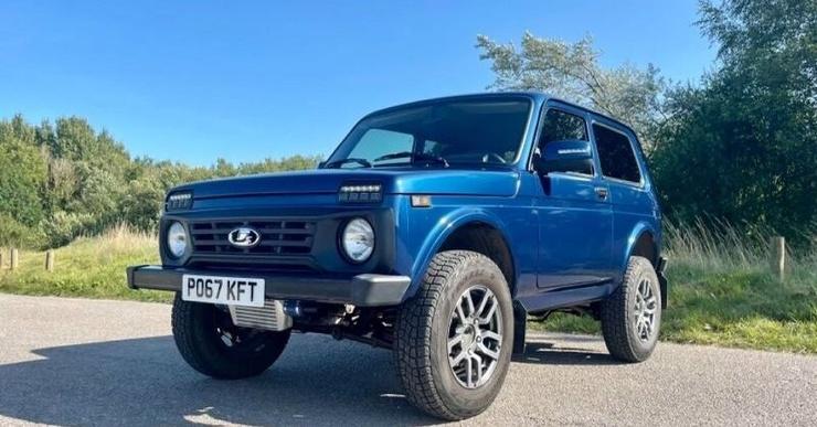 «Ниву» с двигателем от BMW выставили на продажу в Великобритании