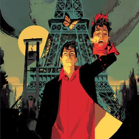Вампиры и смерть в европейском стиле: комиксы Луиджи Кавенаго