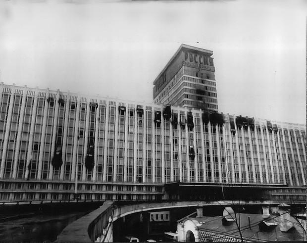 Грандиозный пожар в гостинице «Россия» 25 февраля 1977 года