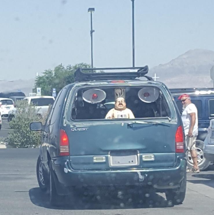 Приколы на автомобильную тематику от
