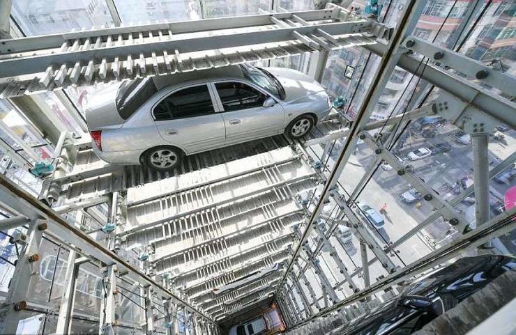 Автоматизированный 26-этажный гараж